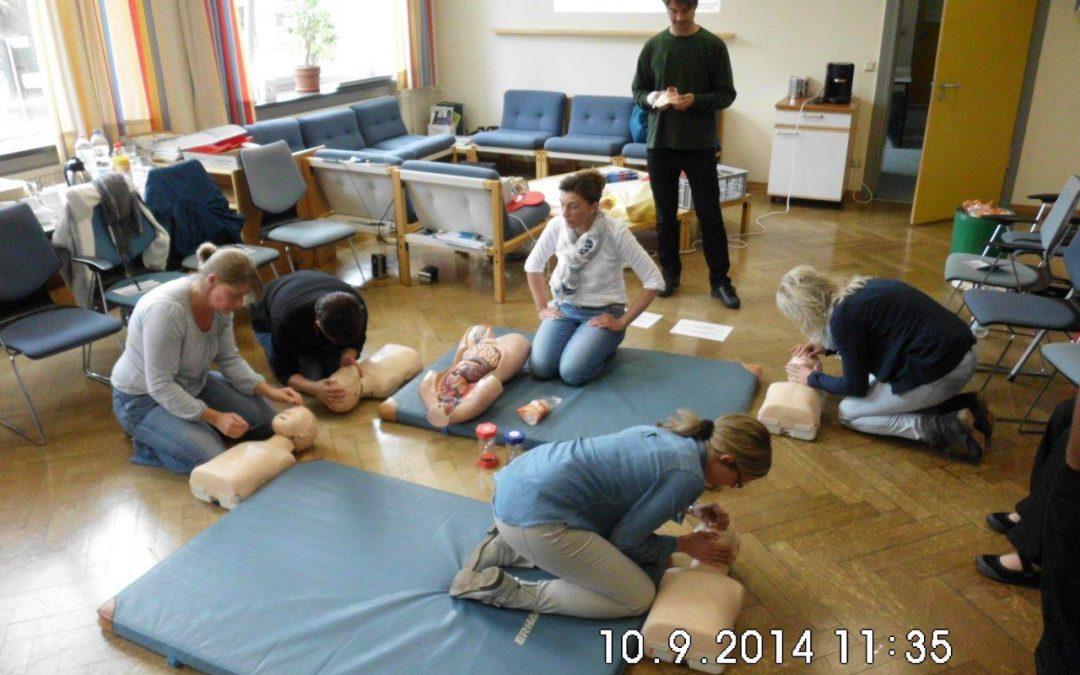 2014 Erste-Hilfe-Kurs