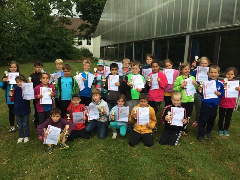 2. Platz beim Regionsfinale des Schultenniscups der Grundschulen